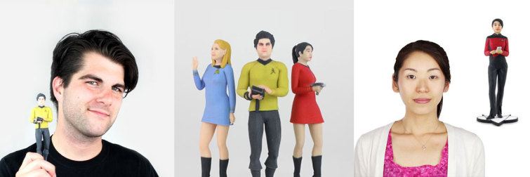 3dme 3d printed figurine of yourself
