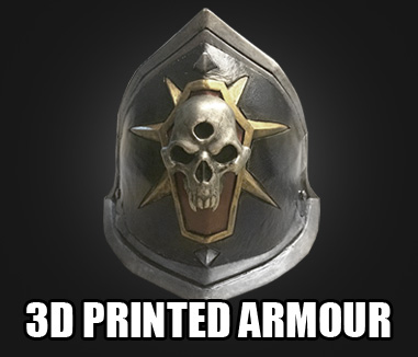 3d printed armour