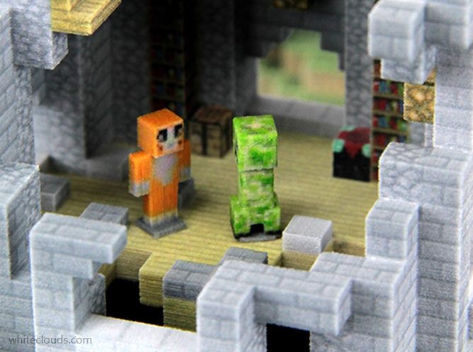 minecraft creeper model
