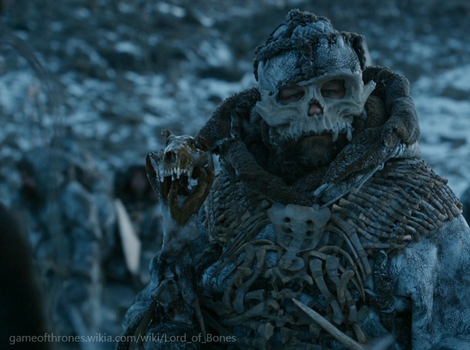 lord of bones game of thrones
