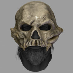 Lord of Bones Wildling Mask